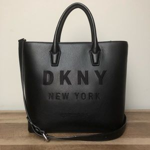 DKNY Embroidered Tote Bag